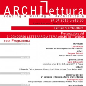 ArchiLettura, Reading e Writing