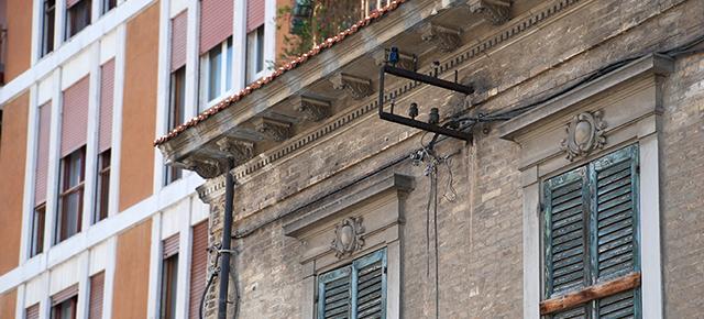 Edificio di Borgo Marino nord in via Gobetti -Andrea Scorrano